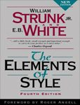 The Elements of Style. 4th edition :